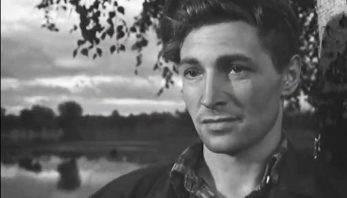 Вячеслав Тихонов в фильме «Дело было в Пенькове», 1957 год