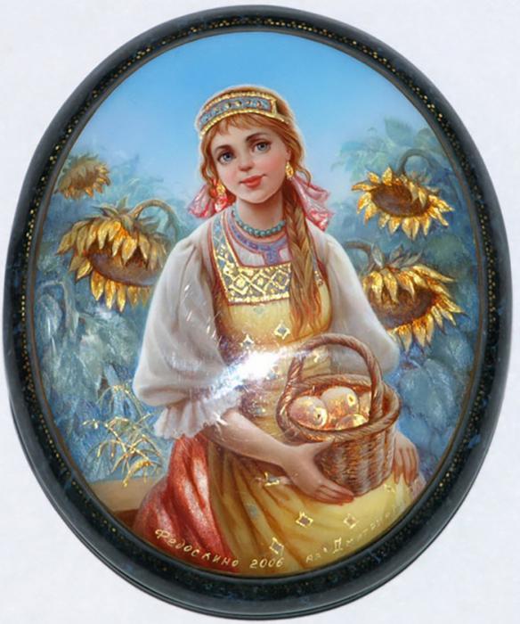 Миниатюра  «Девушка», 2006 г.
