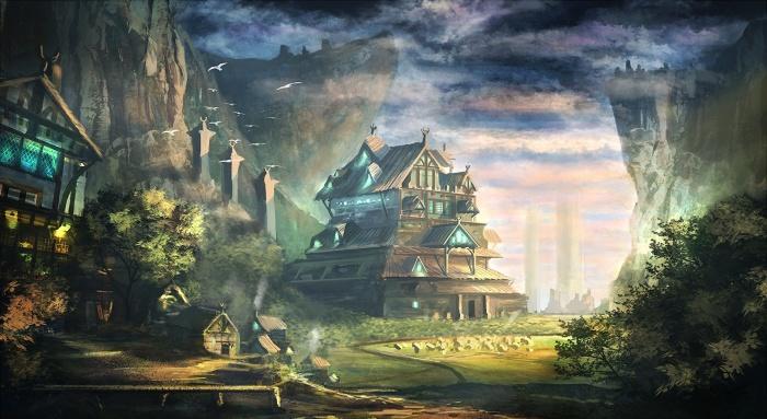 Современные миры в стиле фэнтези очень популярны у художников и писателей