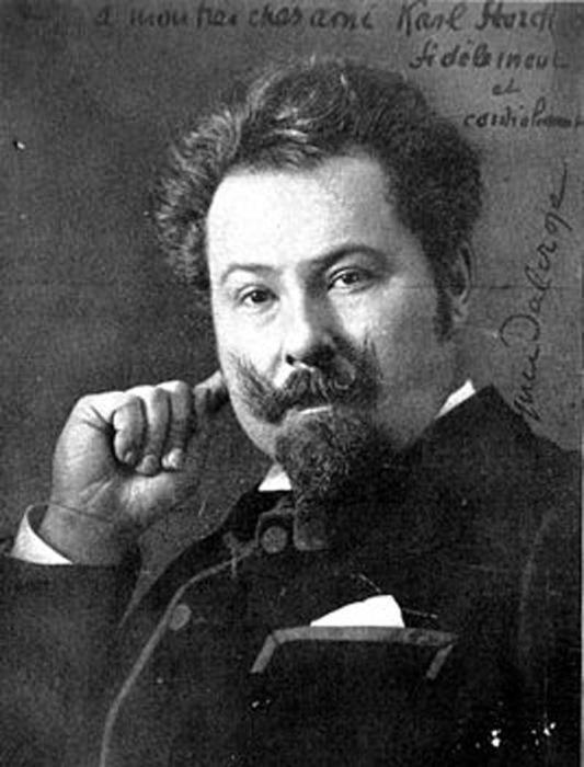 Эмиль Жак-Далькроз, швейцарский композитор и педагог, создатель системы Ритмической гимнастики