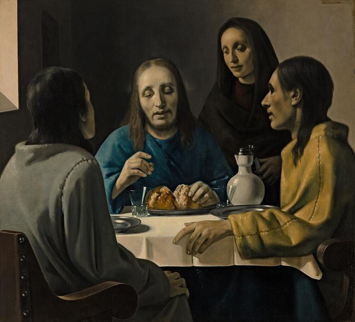 «Христос в Эммаусе» - якобы неизвестная работа Яна Вермеера