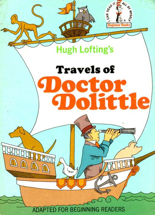 Доктор Дулиттл – литературный прототип Айболита