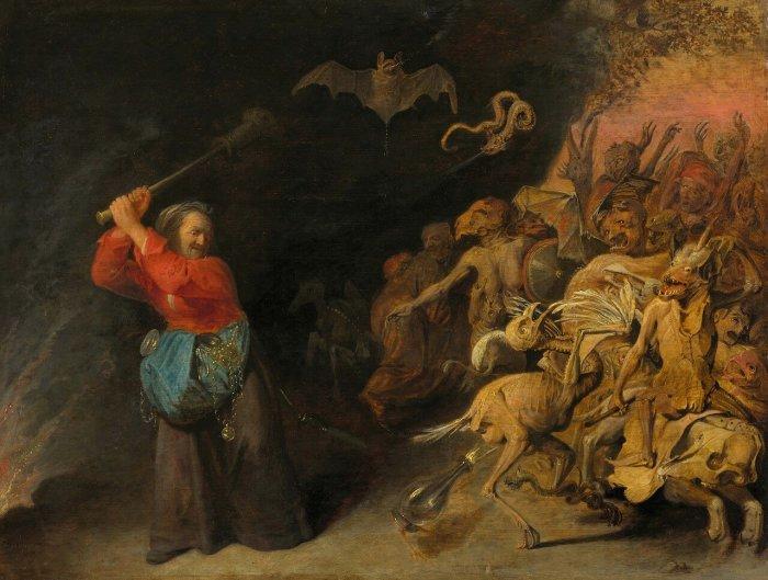Рейкарт Давид III, «Ведьма»