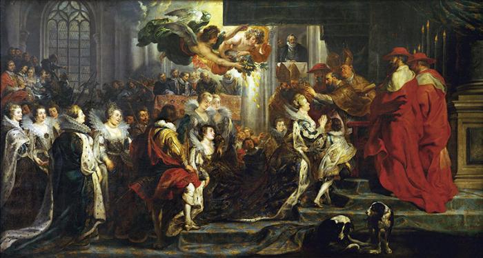 Питер Пауль Рубенс, Коронация Марии Медичи