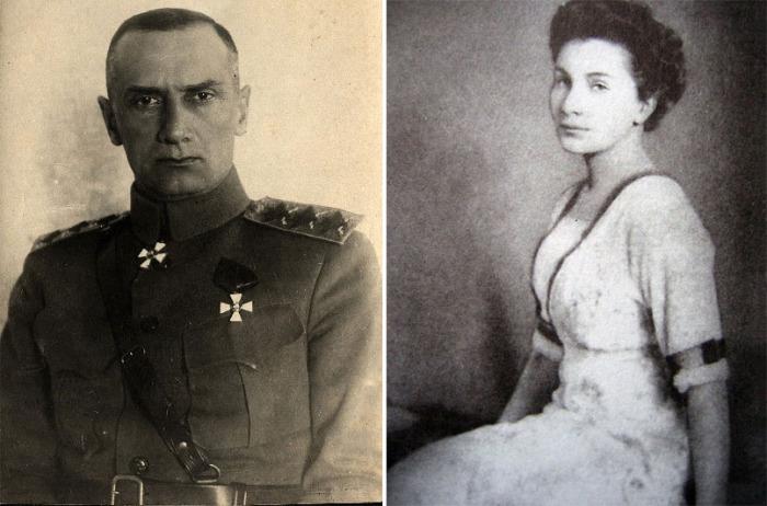 Адмирал А. В. Колчак и А.В Тимирёва