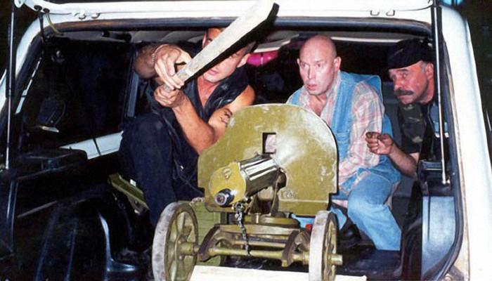 Стрельба из музейного «Максима» стала одной из лучших сцен фильма
