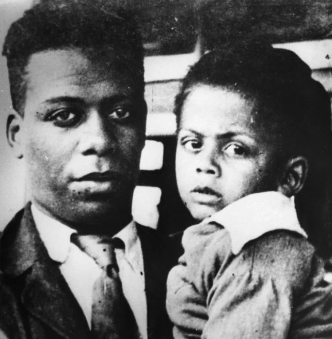 Ллойд Паттерсон с сыном Джимми