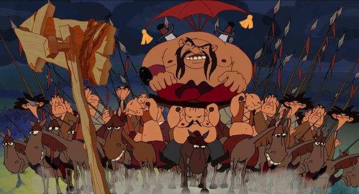 Сюжет победы над поганым Тугарином благополучно дожил до XXI века и используется в сказках до сих пор
