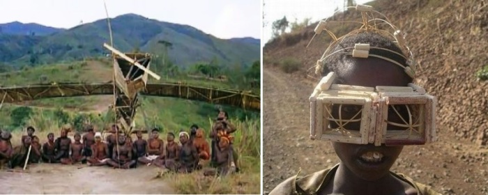 Самолетопоклонники – последователи одного из сохранившихся вариантов культа карго на островах Меланезии и Папуа Новой Гвинеи