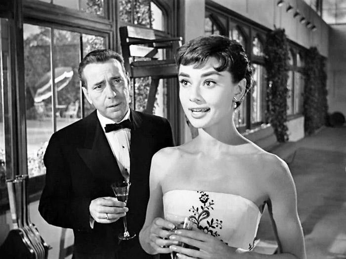 «Сабрина» 1954 года, в главных ролях Одри Хепбёрн и Хамфри Богарт