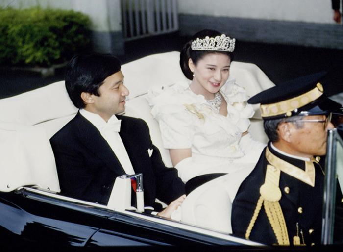 Европейская часть свадебных торжеств принца Нарухито и Масако, 1993