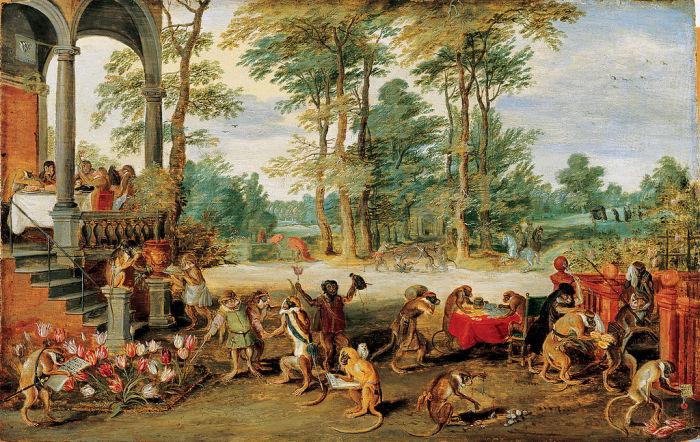 «Аллегория тюльпаномании» (картина-карикатура 1640-х годов)