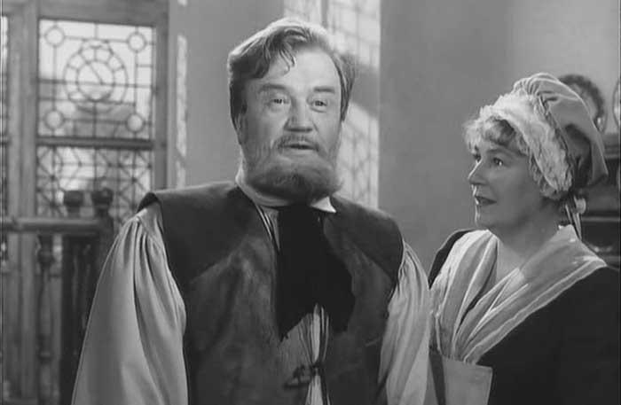 Алексей Консовский в роли Волшебника, к/ф «Обыкновенное чудо», 1964 год