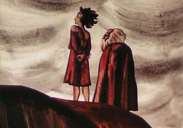 Кадр из м/ф «Вересковый мед», 1974 год