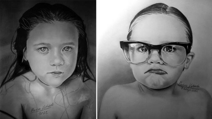 Работы польского художника-инвалида поражают реалистичностью
