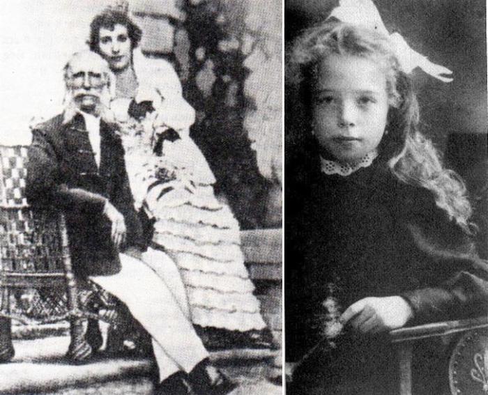 Князья Мещерские и их дочь Екатерина