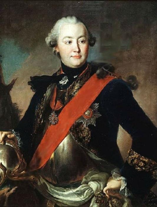 Фаворит императрицы Екатерины II и светлейший князь Григорий Орлов