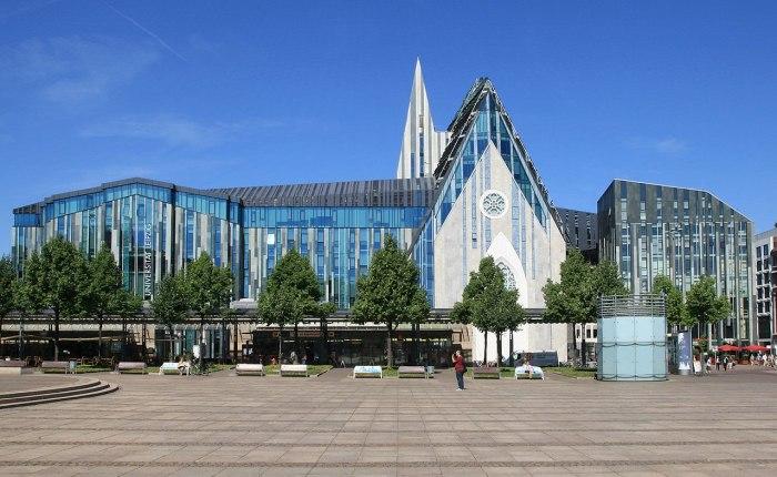 Главное здание Лейпцигского университета