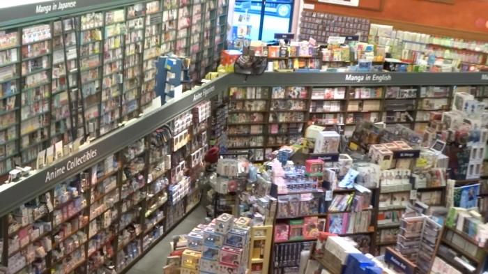 Магазин манга в Токио