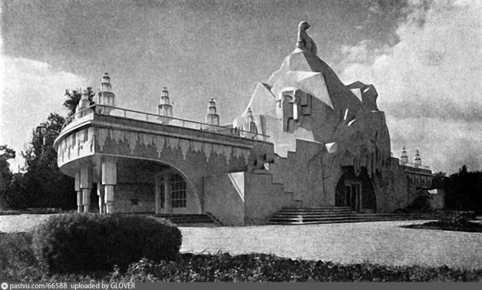 Павильон «Главхолод», ВДНХ, 1950-е гг.