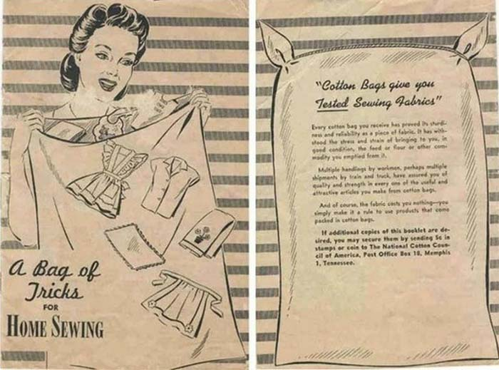 «Хорошие хозяйки мешки не выбрасывают» – памятка о том, как можно использовать ткань