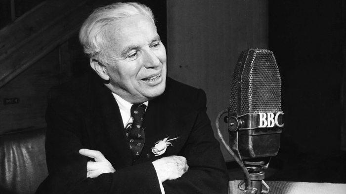 Чарли Чаплин дает интервью BBC, 1970-е гг