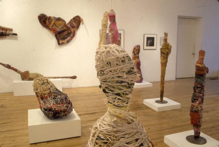 Выставки Джудит Скотт производят на людей необычное впечатление