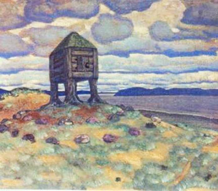 Николай Рерих. «Изба смерти», 1905