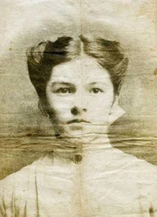 Предположительно – фотография Хмурой Сью, начало XX века