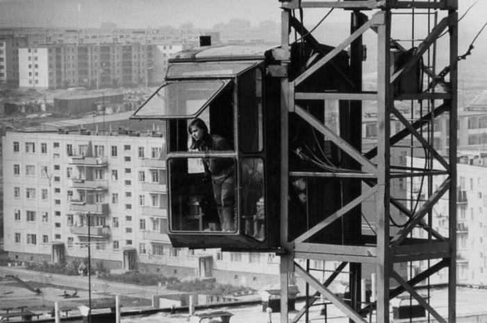 Подъемный кран 1970-е Всеволод Тарасевич