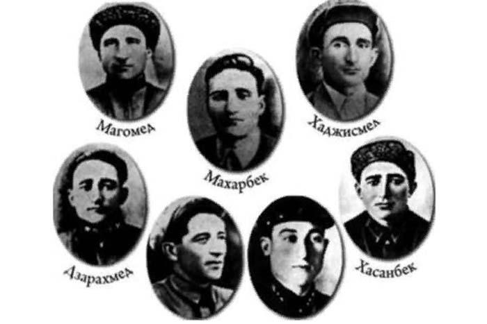 Семеро братьев Газдановых