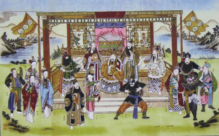 Няньхуа - китайские народные лубочные картины