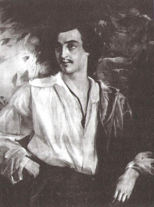 Фотография портрета С. М. Варенцова работы Пукирева., 1860-е годы