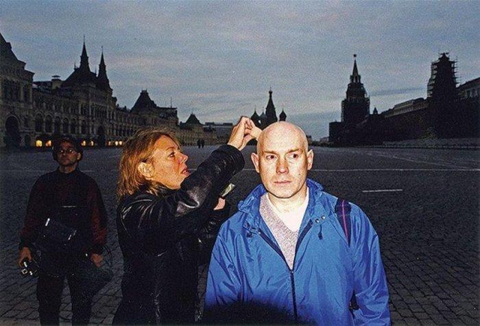 Московская часть съемок фильма