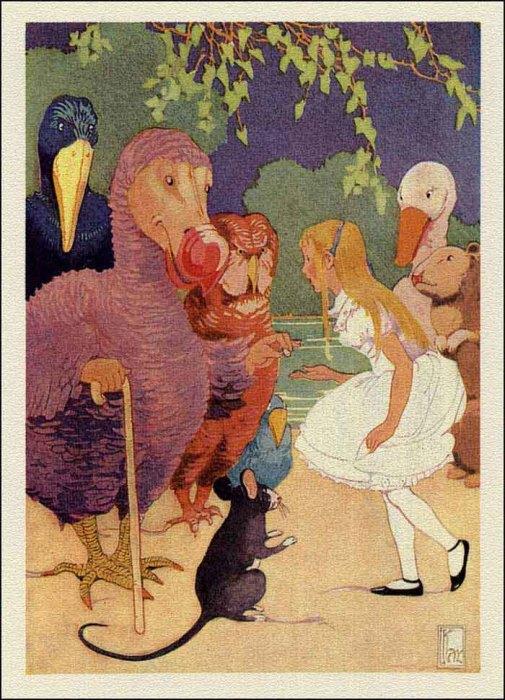«Бег по кругу». Иллюстрация Гертруды Кэй