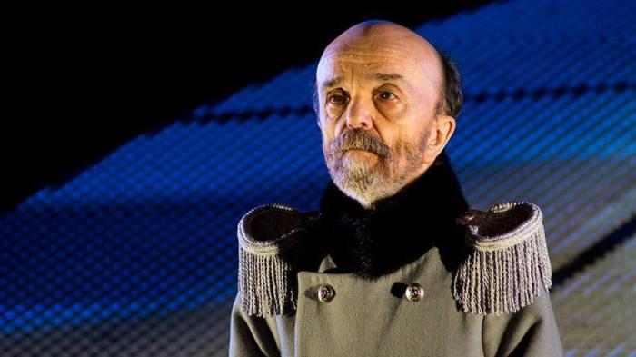 «Театр у Никитских ворот», Владимир Федоров в спектакле «Гамлет» в постановке Марка Григорьевича Розовского