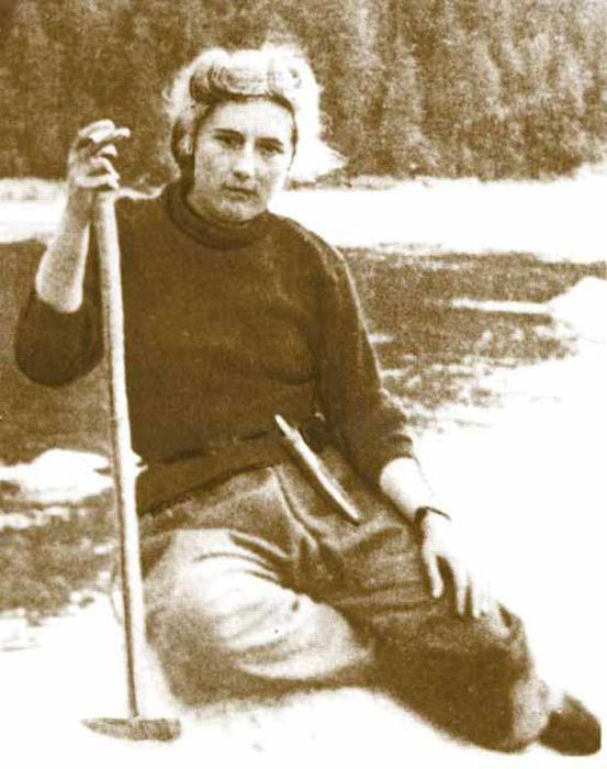 Лариса Анатольевна Попугаева (Гринцевич), 1951 год.