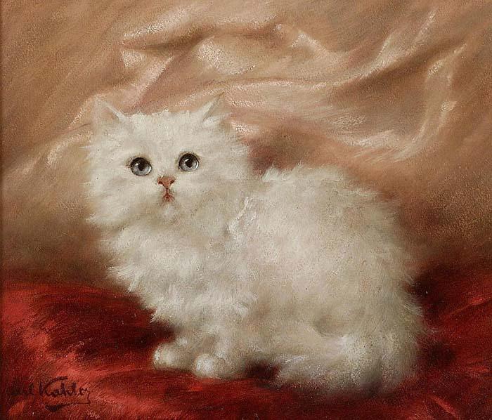 Карл Калер, «Белая ангорская кошечка»