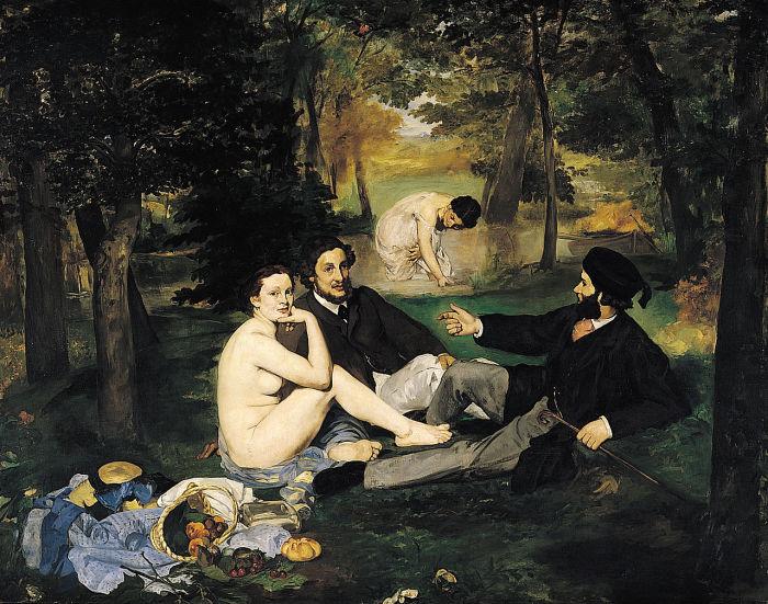 Эдуард Мане, «Завтрак на траве», 1863 год