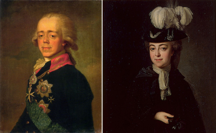 Два сына Екатерины II. Законный – Павел I и незаконный – граф Алексей Григорьевич Бобринский