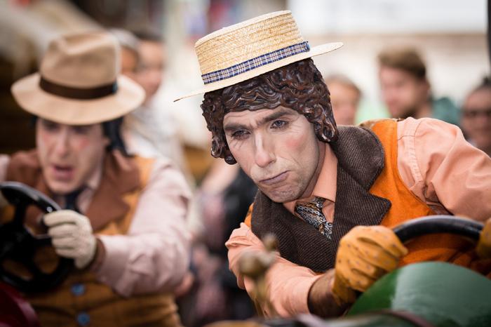 В последние выходные сентября в Нидерландах в городе Арнем проходит всемирный Чемпионат живых статуй (World Living Statues Festival Arnhem)