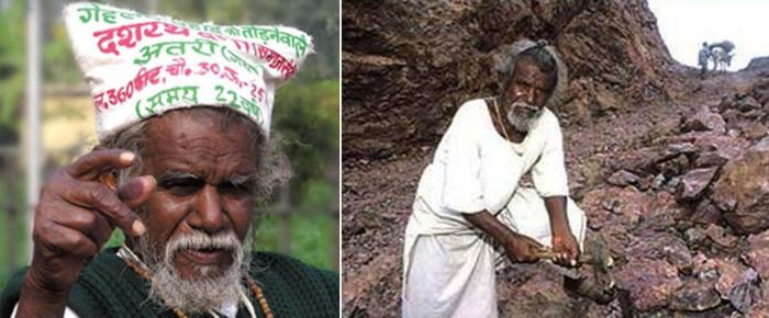 Дашрат Манджи – народный герой в Индии
