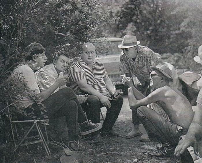 2  На съемках «Кавказской пленницы», обсуждение сцены, 1966 г.