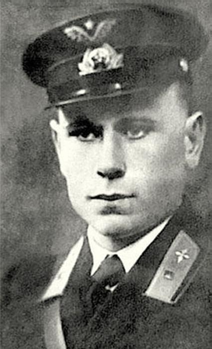 Герой Советского Союза Алексей Фролович Соломатин