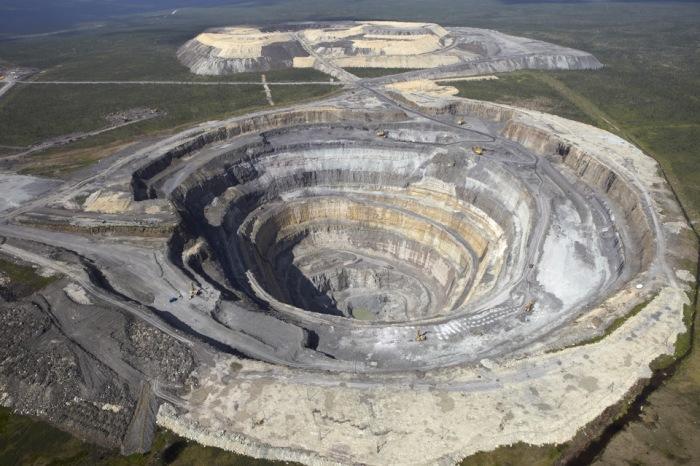 Карьер Айхала, месторождение Зарница, и сегодня дает много алмазов