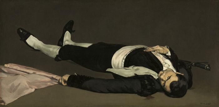 Эдуард Мане, «Мертвый тореро», 1864 –1865 гг.