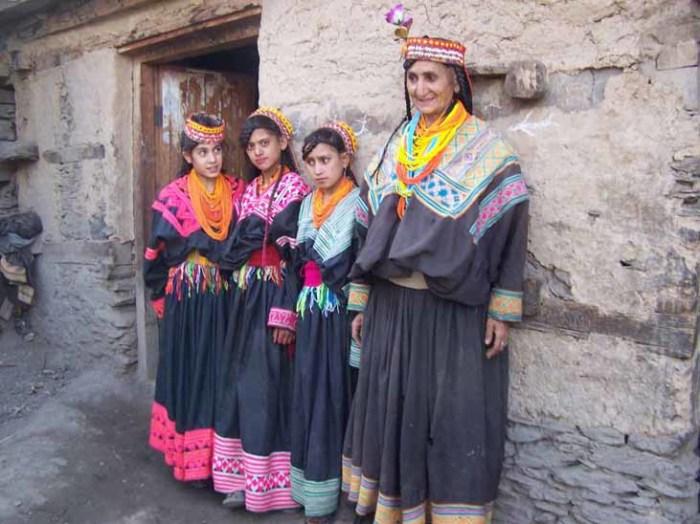 Хунзакуты – жители отдаленного района Кашмира