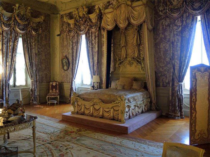 Спальня миссис Альвы Вандербильт