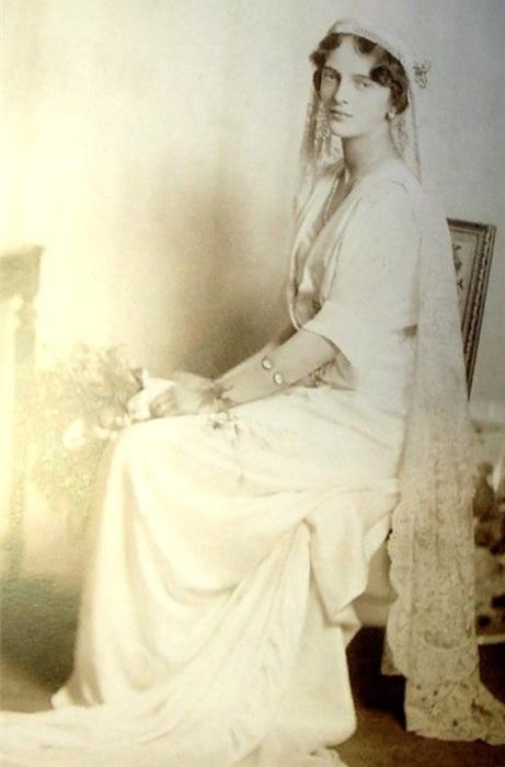 Ирина Романова в день свадьбы