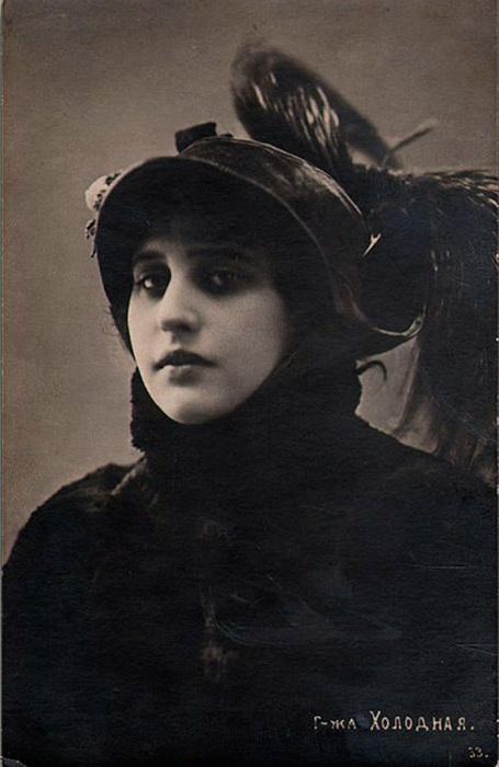 Вера Холодная – звезда киноэкрана начала XX века